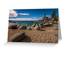 At Secret Cove - Lake Tahoe Greeting Card