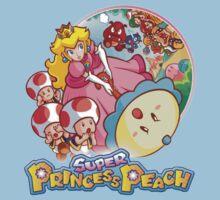 Super Princess Peach Kids Tee