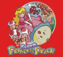 Super Princess Peach Baby Tee