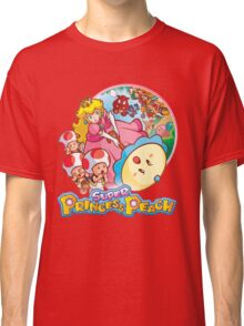 Super Princess Peach Classic T-Shirt