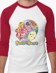 Super Princess Peach Men's Baseball ¾ T-Shirt