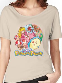 Super Princess Peach Women's Relaxed Fit T-Shirt