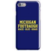 Michigan Footbaugh iPhone Case/Skin