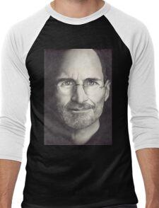 Steve Jobs Men's Baseball ¾ T-Shirt