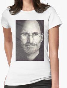 Steve Jobs Womens Fitted T-Shirt