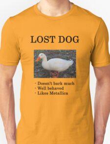 Lost Dog / Duck Unisex T-Shirt