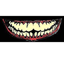 Joker Smiler Photographic Print