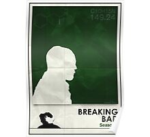Breaking Bad season 1 minimalist poster Poster
