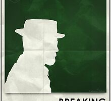 Breaking Bad season 1 minimalist poster by Cameron Gillum