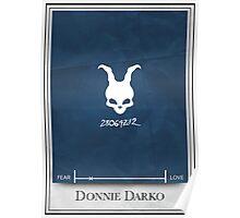 Donnie Darko Minimalist poster Poster
