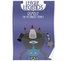 League of legends - Rumble the mechanized menace Poster