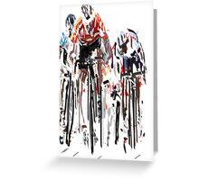 Tour de France Greeting Card