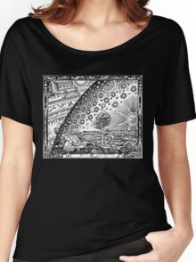 Flammarion - Psychedelic renaissance woodcut Women's Relaxed Fit T-Shirt