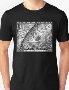 Flammarion - Psychedelic renaissance woodcut Unisex T-Shirt