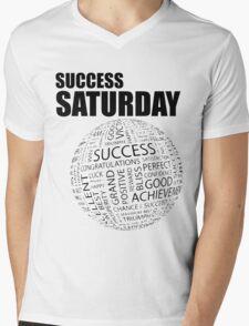Success Saturday Mens V-Neck T-Shirt