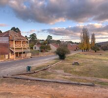 The Main Street- Hill End NSW by Sarah Donoghue