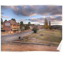 The Main Street- Hill End NSW Poster