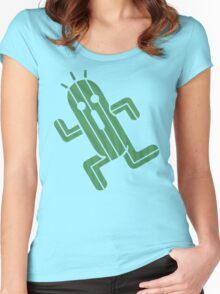 Cactuar - Final Fantasy Women's Fitted Scoop T-Shirt