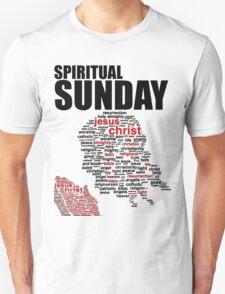 #1 Spiritual Sunday w/black trim T-Shirt