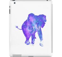 Galaxy elephant iPad Case/Skin