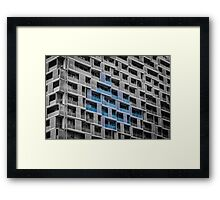 cubist reality Framed Print