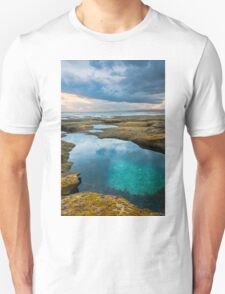 Sunset Pool,Point Roadknight. T-Shirt