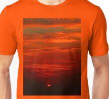 Dramatic red sunset Unisex T-Shirt