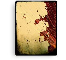 The Rust from my Belt, tells no lies!  Canvas Print