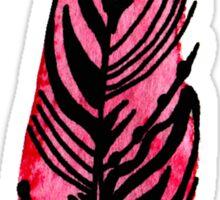 Pink Feather Sticker