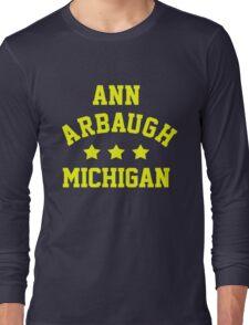 Ann Arbaugh, Michigan Long Sleeve T-Shirt