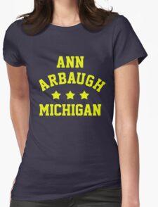 Ann Arbaugh, Michigan Womens Fitted T-Shirt