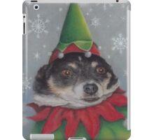 A Furry Christmas Elf iPad Case/Skin