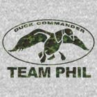 Duck Commander Dynasty Team Phil - CAMO by sweetsisters