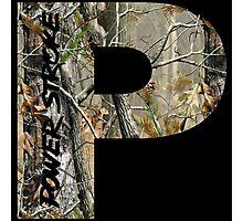 Powerstroke Camo Photographic Print