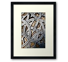 Grate Design II Framed Print