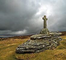 Memorial Cross Dartmoor by Nick Jenkins