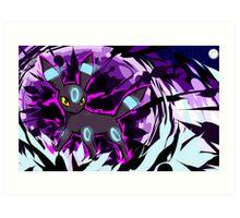 Shiny Umbreon | Dark Pulse Art Print