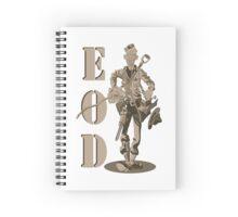 Marine EOD man Spiral Notebook