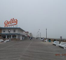 Dolles on the Boardwalk by ArtByLes
