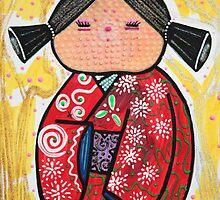 Kokeshi by Laura Barbosa