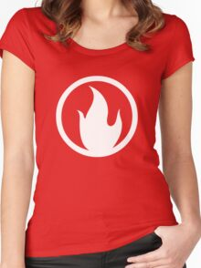 TF2 Pyro Shirt White Women's Fitted Scoop T-Shirt
