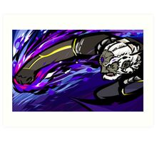 Black Palette Ganondorf | Warlock Punch Art Print