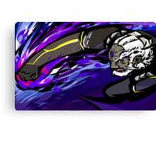 Black Palette Ganondorf | Warlock Punch Canvas Print