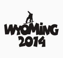 2014 Wyoming Snowboarding Design by theshirtshops