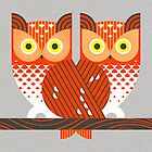 Screech Owls by Scott Partridge
