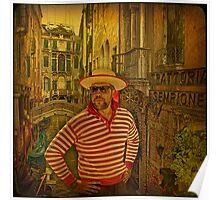 Venice... Trattoria Sempione. Poster