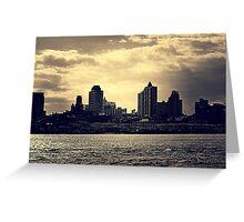 East River - Dumbo, Brooklyn Greeting Card