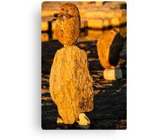 Stone sculpture-9 Canvas Print
