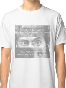 Raggedy Man...Goodnight  Classic T-Shirt