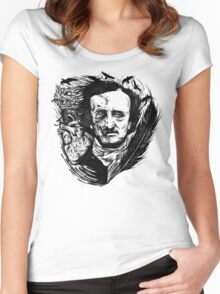Edgar Allan Poe Stories Women's Fitted Scoop T-Shirt